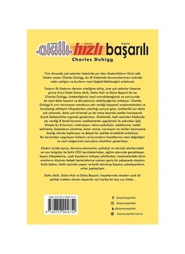 Boyner Yayınları Boyner Yayınları - Yeni Dünyada Daha Akıllı Daha Hızlı Daha Başarılı Olmanın Sırları Renksiz